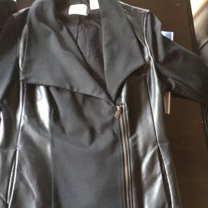 DKNY MOTO JEANS JACKET Fits like MED